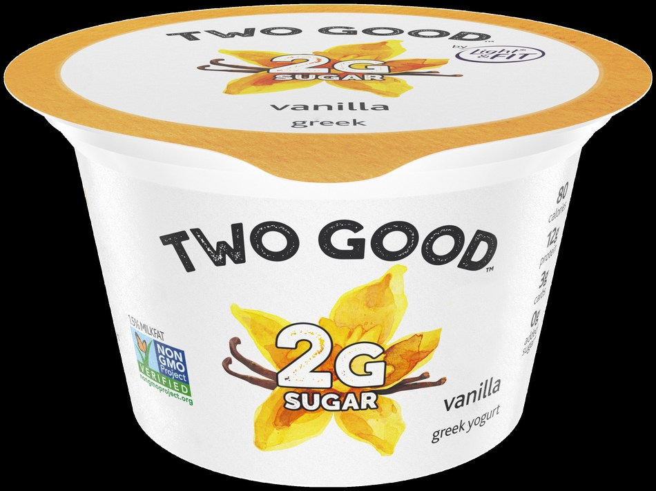 Two Good Vanilla Greek Lowfat Yogurt
