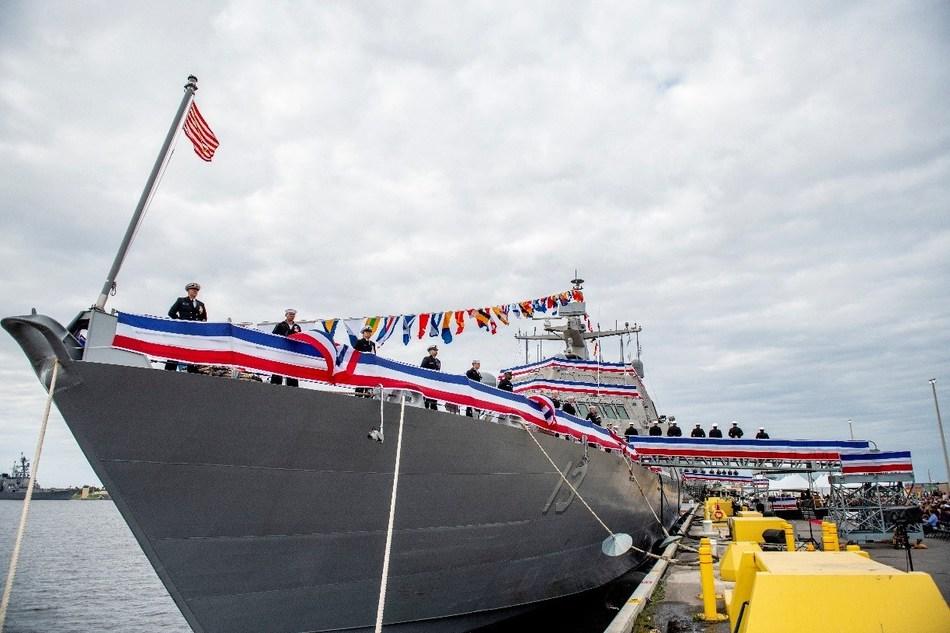 Wichita (LCS 13) enters active service in the U.S. Navy fleet.