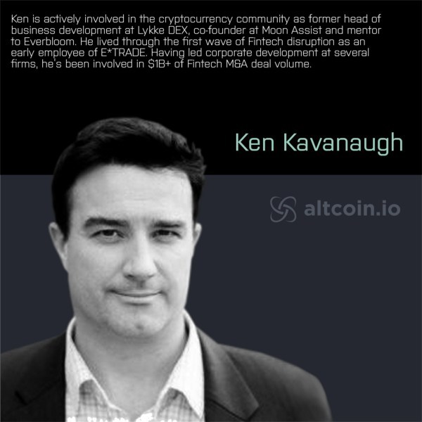 Altcoin.io Appoints Cryptocurrency and FinTech Leader Ken Kavanaugh as President