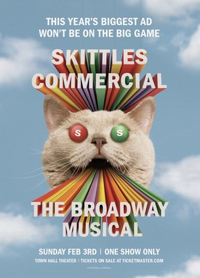 Skittles Commercial: The Broadway Musical