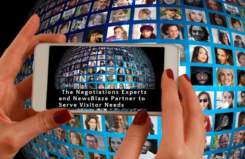 The Negotiations Experts and NewsBlaze Partner to Best Serve Visitor Needs