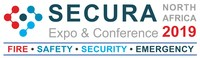 SECURA North Africa 2019 logo (PRNewsfoto/EASYFAIRS NORTHERAL)
