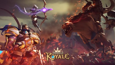 Mobile Royale, the new mobile game from IGG is available now on Apple AppStore and Google Play. (PRNewsfoto/IGG)