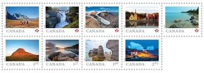 Retour de la série Terre de nos aïeux (Groupe CNW/Postes Canada)