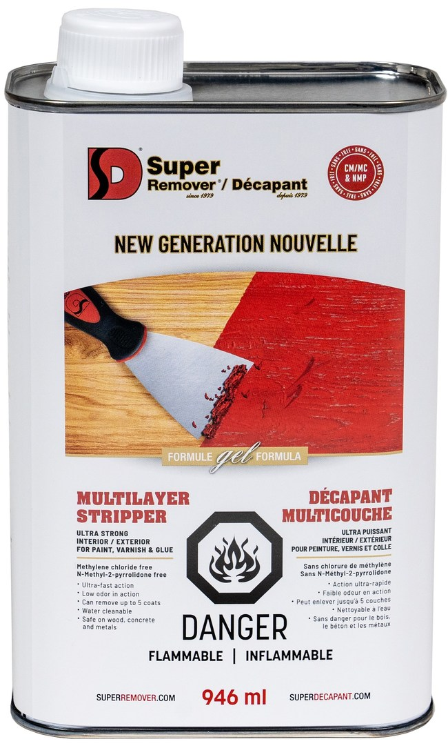 Canadian company launches a new, safer paint stripper