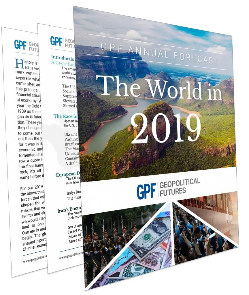 (PRNewsfoto/Geopolitical Futures)