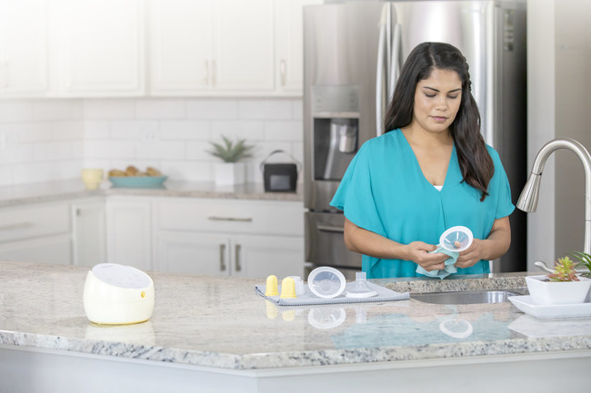 Medela's new PersonalFit Flex breast shields adapt to a mom's natural shape and help her pump over 11 percent more breast milk, overall.