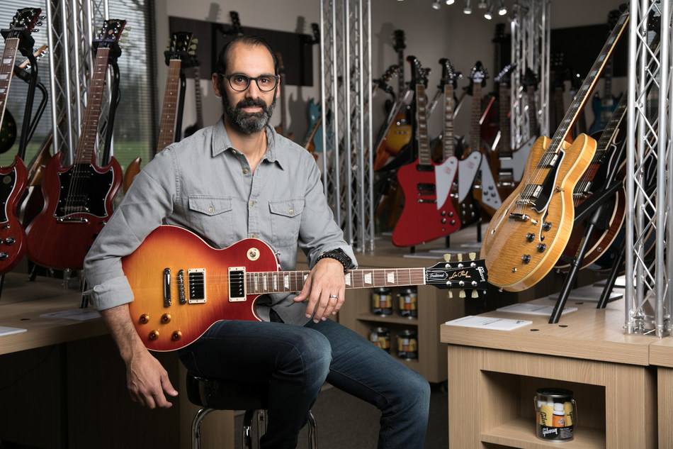 Cesar Gueikian, Chief Merchant Officer of GIBSON.