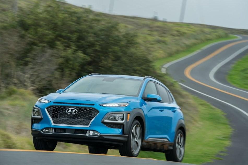 Hyundai Kona and Kona Electric CUV Win Prestigious 2019 Car and Driver 10Best Trucks and SUVs Award