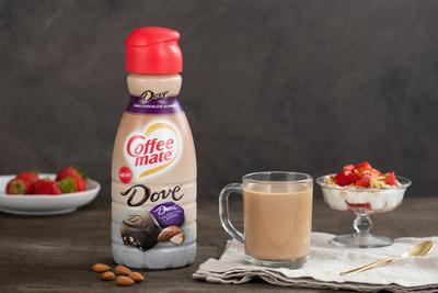 Coffee mate® DOVE® Dark Chocolate Almond Creamer