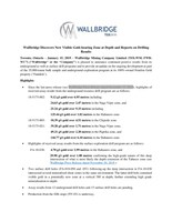 Wallbridge Discovers New Visible Gold-bearing Zone at Depth and Reports on Drilling Results (CNW Group/Wallbridge Mining Company Limited)
