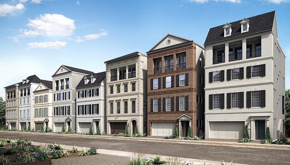 Darling Homes is introducing a new collection of homes that will allow Houston homebuyers to mix and match their favorite floor plan levels into new three- and four-story stackable homes.