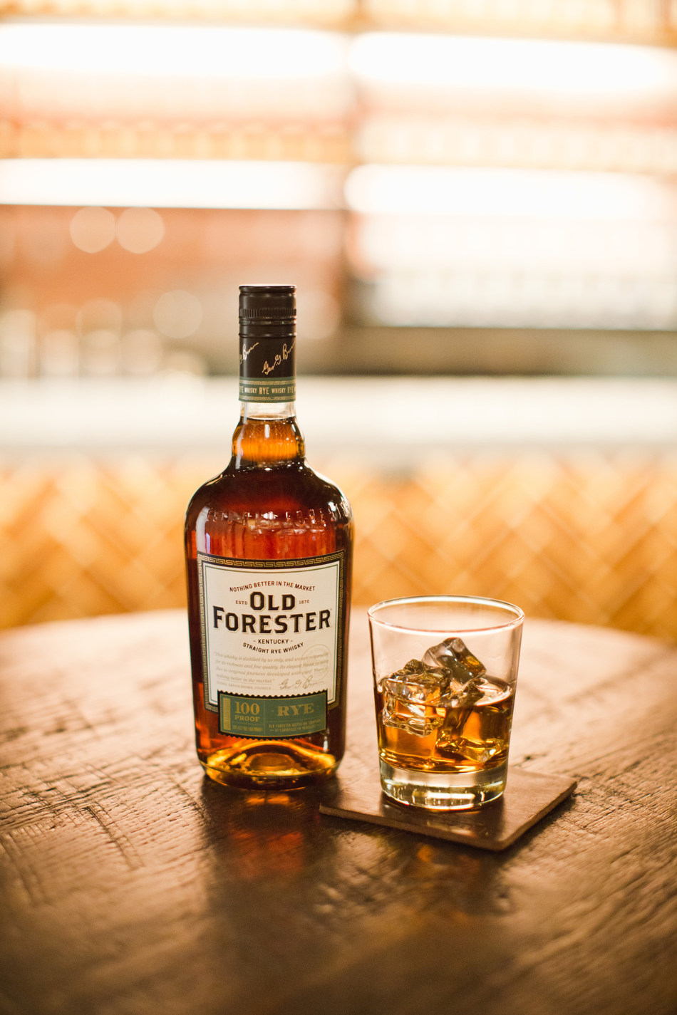 Old Forester Launches the Spiciest Member of The Family: Old Forester Rye