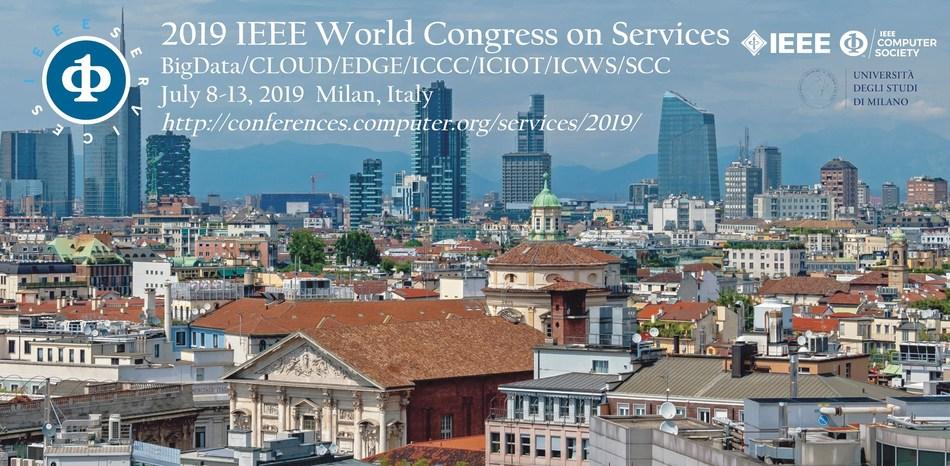 IEEE 2019 World Congress on Services - IEEE SERVICES: IEEE BIGDATA CONGRESS/IEEE CLOUD/IEEE EDGE/IEEE ICCC/IEEE ICIOT/IEEE ICWS/IEEE SCC