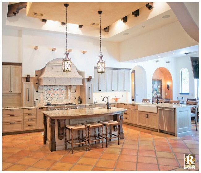 Mexican Saltillo Floor Tile for Spanish Style Homes