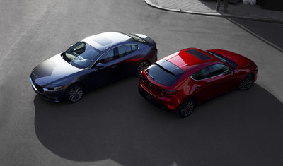 2019 Mazda3 and Mazda3 Sport (CNW Group/Mazda Canada Inc.)