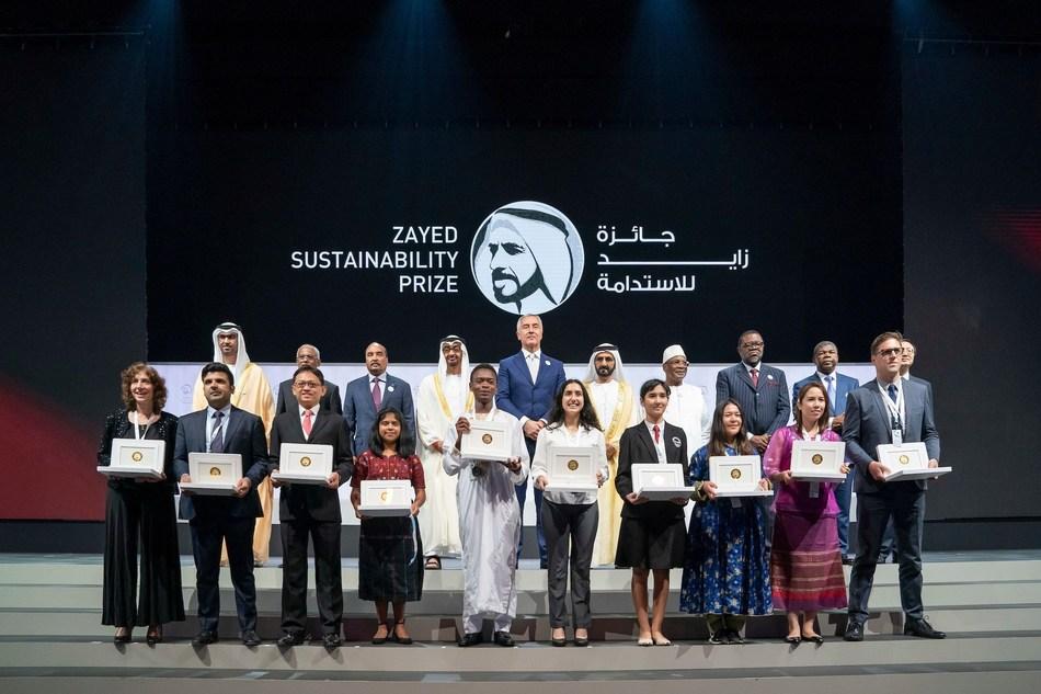 Zayed Sustainability Prize Award Ceremony 2019 (PRNewsfoto/Zayed Sustainability Prize)