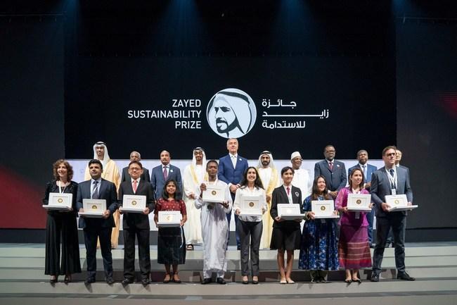 Zayed Sustainability Prize Award Ceremony 2019