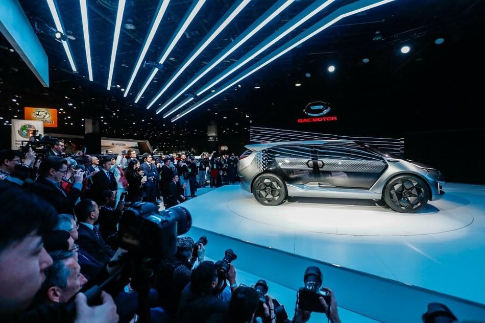 Carro conceito ENTRANZE (PRNewsfoto/GAC Motor)