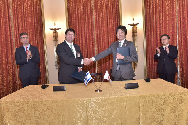 Earlier today, the Japanese Minister of Commerce and the Israeli Minister of Economy and Industry shook hands on an agreement that will bring together innovators from both nations to develop Artificial Intelligence solutions to further the development of Industry 4.0.