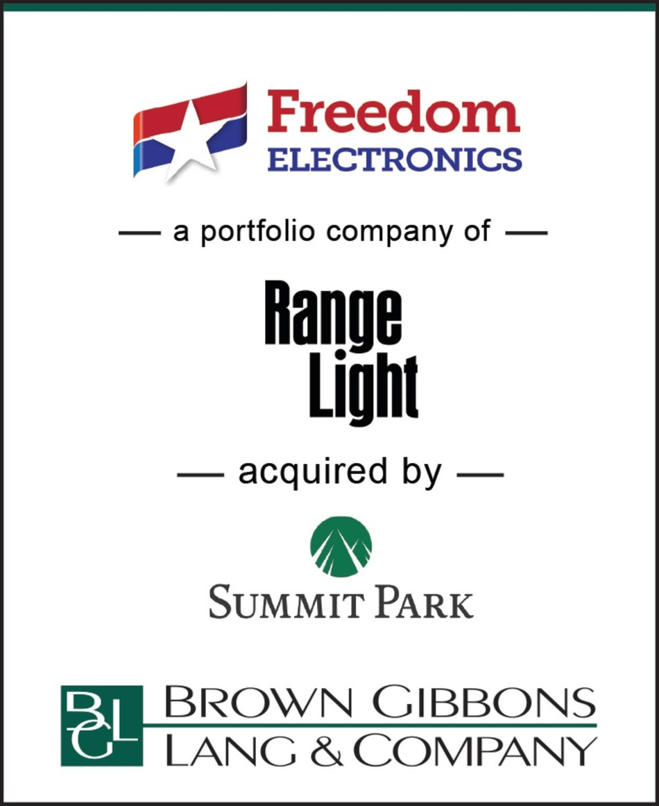 Brown Gibbons Lang & Company (BGL) is pleased to announce the sale of Freedom Electronics, LLC (Freedom), a portfolio company of Range Light LLC, to Summit Park LLC. BGL's Diversified Industrials team served as the exclusive financial advisor to Freedom.