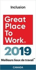 Meilleurs lieux de travail™ pour Inclusion 2019 (Groupe CNW/Astellas Pharma Canada, Inc.)