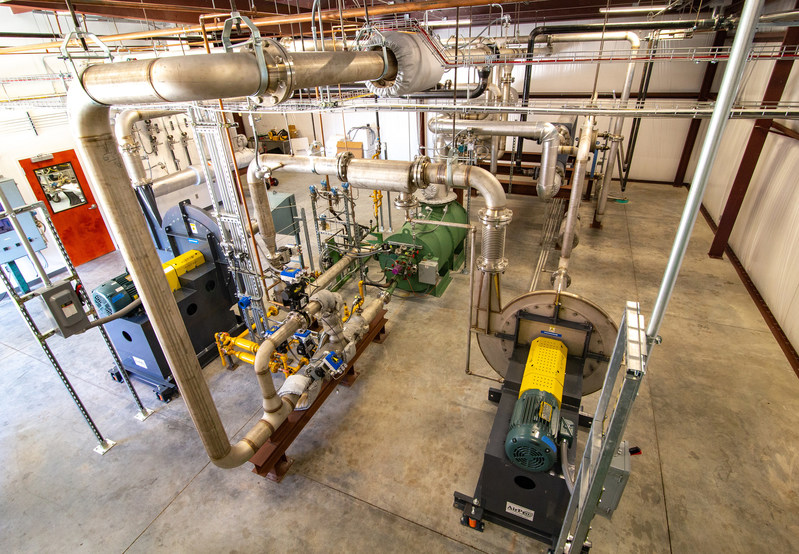 ICT's new Selective Catalytic Reduction (SCR) Catalyst Testing Facility located in Pelham, Ala.