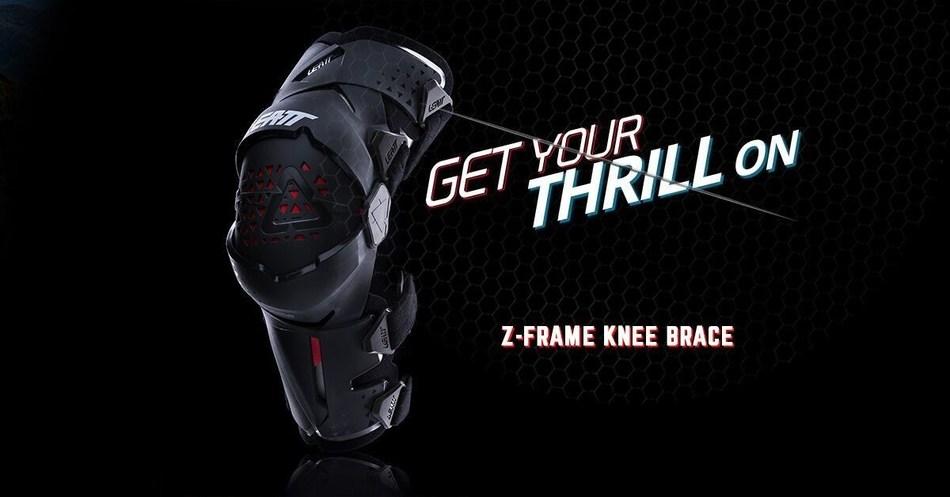 Leatt Unveils New Z-Frame Knee Brace