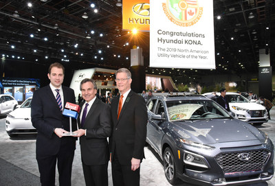 O Brien Hyundai >> Hyundai Kona and Kona Electric CUV Win Prestigious 2019 ...