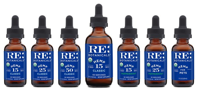 RE Botanicals achieves USDA Organic Hemp CBD milestone