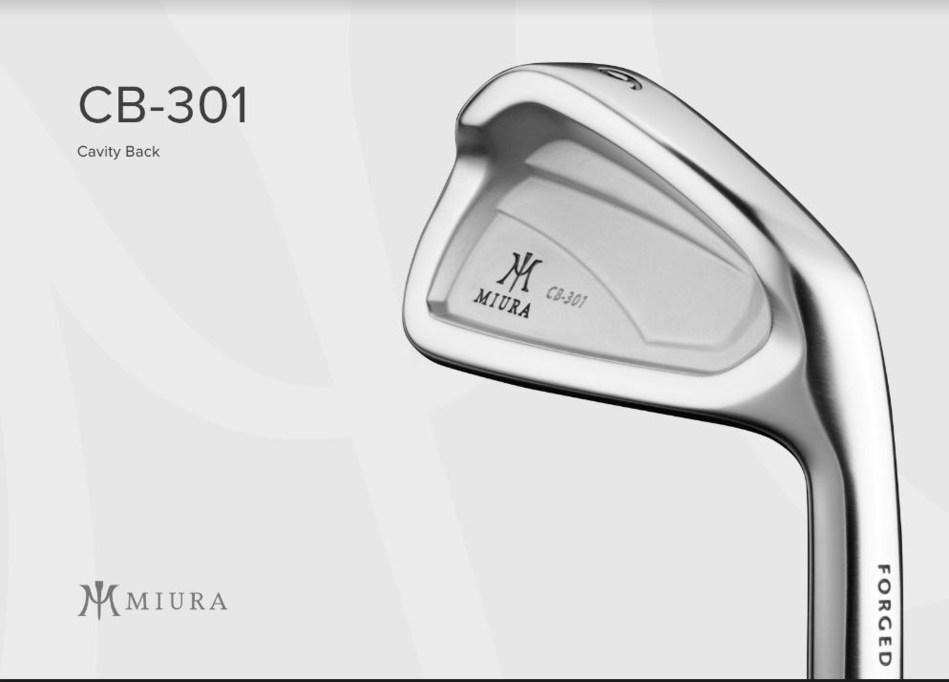 The CB-301 hand-forged cavity back iron is constructed to optimize performance for golfers of all levels.
