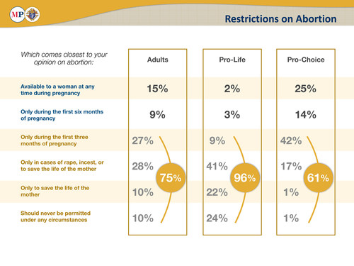 Support for Restrictions on Abortion