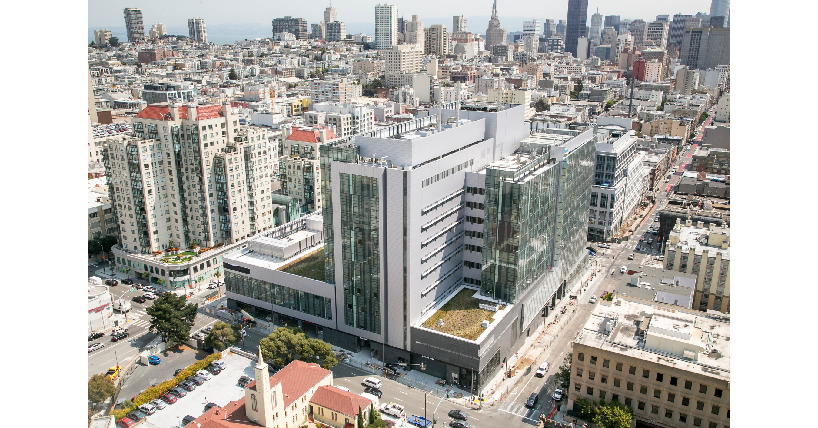 New Sutter Cpmc Van Ness Campus Hospital To Open In The Heart Of San Francisco