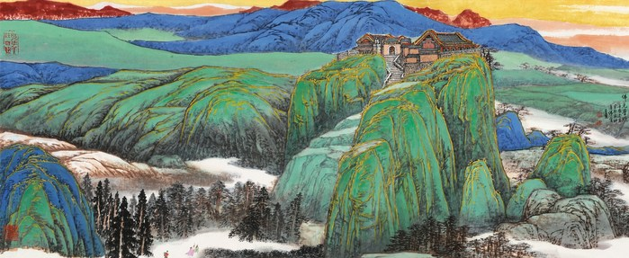Painted by the renowned artist Zheng Baizhong (CNW Group/Poly Culture North America)