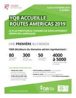YQB Accueille Routes Americas 2019 (Groupe CNW/Aéroport de Québec)