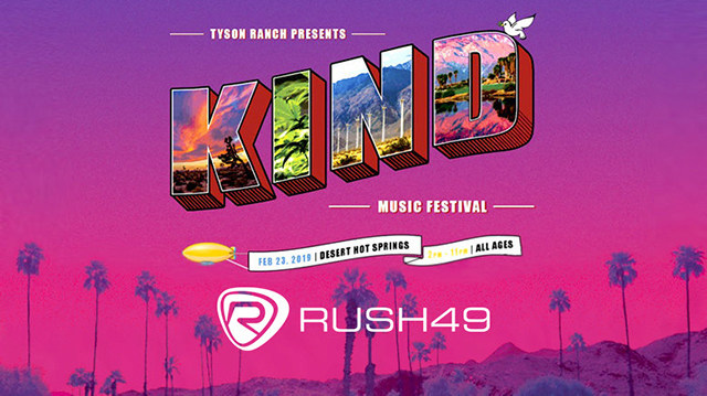 Rush49.com selected to promote inaugural Mike Tyson Kind Music Festival