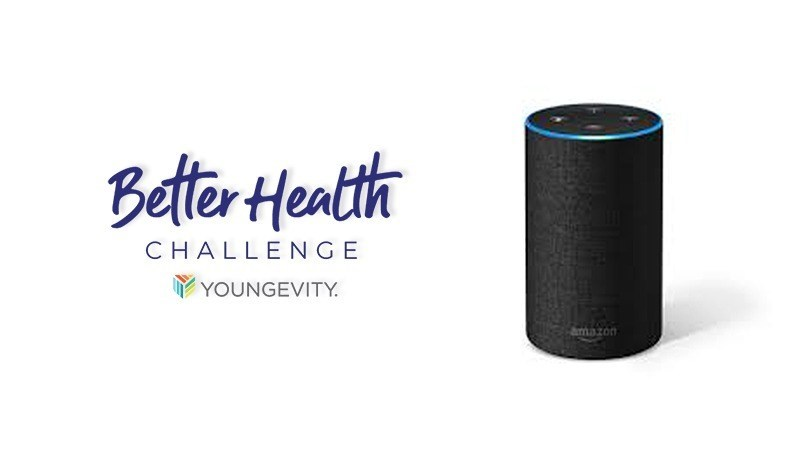 YOUNGEVITY 2019 BETTER HEALTH CHALLENGE OFF TO FAST START AND AMAZON'S ALEXA NOW PROVIDING DAILY FLASH BRIEFINGS
