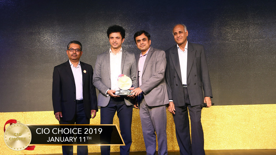 Lavelle Networks wins CIO Choice award for SD-WAN (PRNewsfoto/Lavelle Networks Private Limited)
