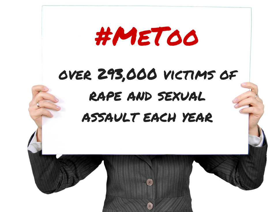 On average there are over 293,000 victims of rape and sexual assault each year, many of the crimes committed by someone the victim knows