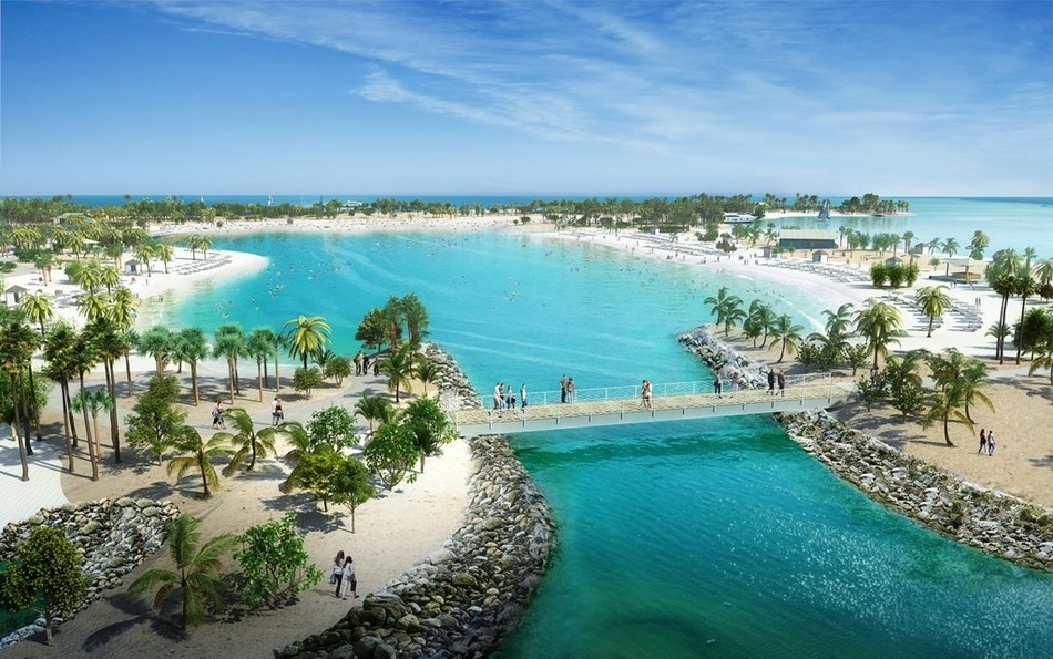 Ocean Cay MSC Marine Reserve features a Great Lagoon for swimming and water sports.