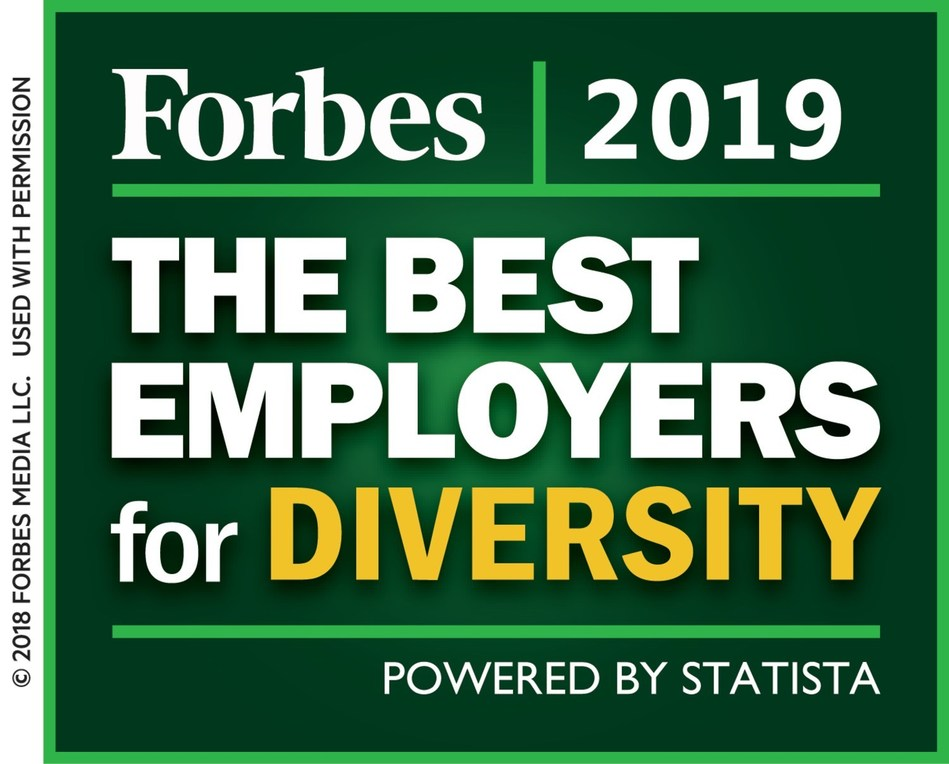 Wyndham Destinations, the world's largest vacation ownership and exchange company, was named to Forbes magazine's Best Employers for Diversity list.