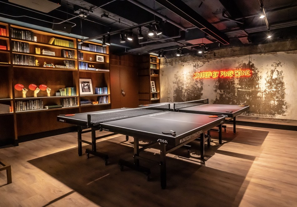 SPIN, THE ORIGINAL PING PONG SOCIAL CLUB, OFFICIALLY OPENS IN WASHINGTON DC