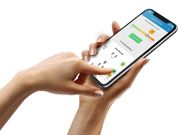 The Manage My Pain app helps patients and clinics measure, monitor, and manage chronic pain.