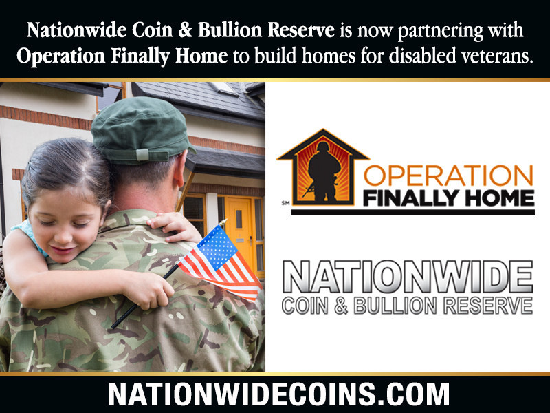 Nationwide Coin & Bullion Reserve Partners with Operation Finally Home