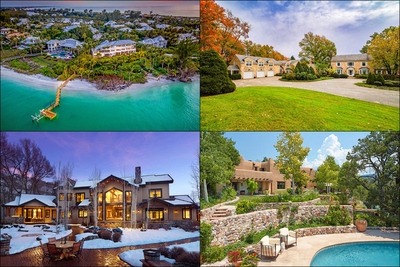 Platinum Luxury Auctions has announced the successful sale of four luxurious properties that were offered at two auction events held Jan 10th and 12th. The four properties shared the same owner, and had a collective asking price of $46 million. The homes, located in Ligonier, PA, Boca Grande, FL, Durango, CO and Santa Fe, NM, were each offered without reserve. Platinum reported the sales established various record prices in their market areas. Learn more at PlatinumLuxuryAuctions.com.