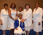 Zeta Phi Beta Sorority, Incorporated Celebrates 99 Years of Service with the Induction of Founder Viola Tyler Goings' Daughter, Wynona Kidd