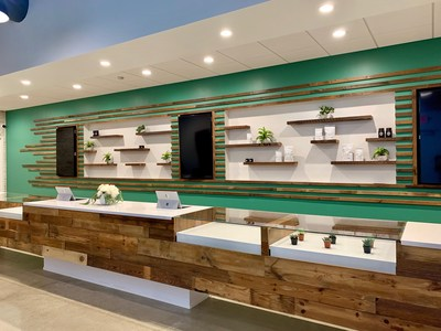 This is a photo of the interior of The Forest in Sandusky, Ohio. The Forest is the first medical marijuana dispensary in the state to serve patients.