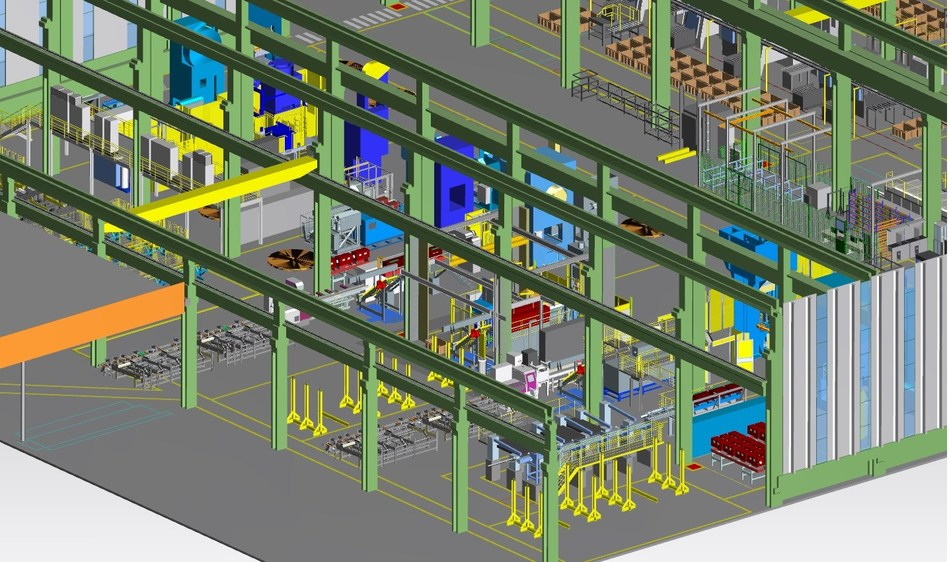 With a goal of increasing productivity and shortening the development time of new products, Maxiforja has adopted Femap™ software, the Plant Simulation solution in the Tecnomatix® portfolio, the Teamcenter® portfolio, NX™ software and Line Designer from Siemens in order to reach its goal of becoming a digitalized enterprise.
