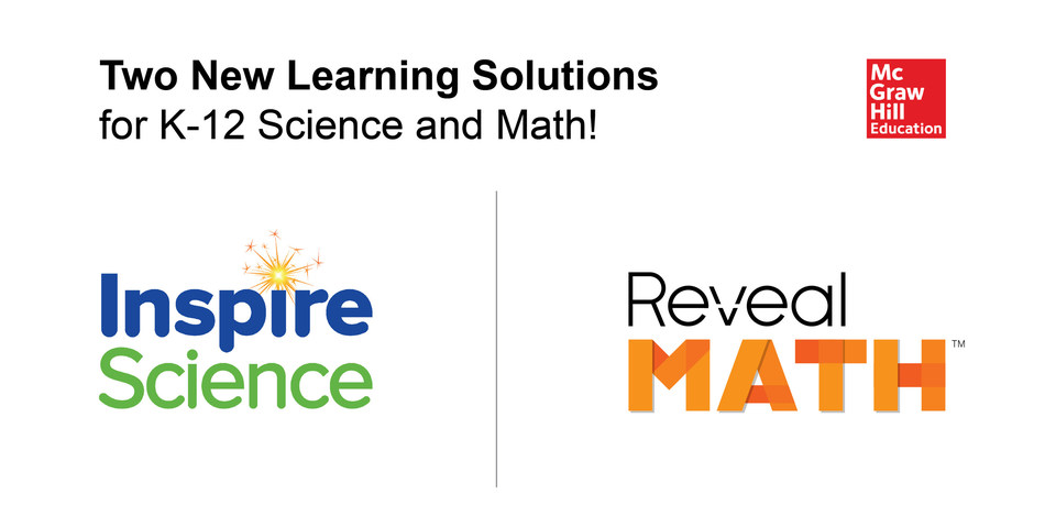 McGraw-Hill Education announces two new learning solutions for K-12 science and mathematics.