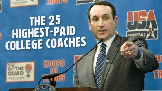 The 25 Highest-Paid College Coaches of 2019 - The Quad @ TheBestSchools.org